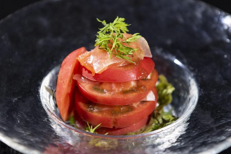 トマトのミルフィーユ